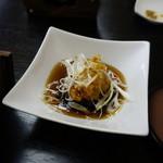 瑠璃京 - 鱧の竜田揚げ