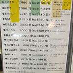 42281100 - お寿司のメニューです