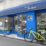 Cup cake 3rd Street - ブルーの外観がお洒落〜♫