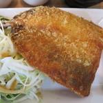 鎌倉お昼ごはん - 相模湾産 アジフライアップ