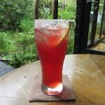 cafe kaeru - リンゴンベリーソーダ