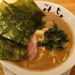 横浜家系 麺屋はやぶさ - らーめん