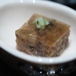 京都 吉兆 - すっぽんの煮凝り