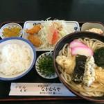 なかむらや - 天ぷらうどん定食970円