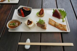 鎌倉 松原庵 - 由比コースの前菜