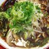 新福菜館 - 料理写真:らーめん。黒い。。。