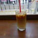 BECK'S COFFEE SHOP - アイスカフェラテ:280円 (2015/9)