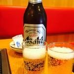 42289041 - 瓶ビールで乾杯♡