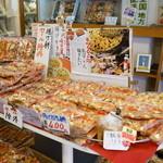 杉戸煎餅 - 2015.9 揚げかき餅(400円)醤油、塩、海苔、胡麻