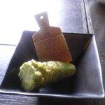 ととろの里 - 蕎麦に付ける用の山葵