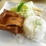 レストラン トロイカ - 氷見カレーパイ:1200円