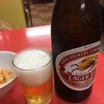 ハナウエ - 瓶ビール 590円