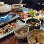 津ねや - 「津ねや」さんで秋田の郷土料理をたくさん♪ 最高の気分です!