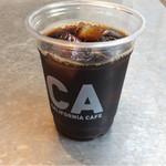 カフェ&ビアテラス カリフォルニアカフェ - アイスコーヒー378円