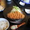 かつ雅  - 料理写真:厚切りジャンボロースかつ定食