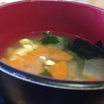ラウンジ 伽羅 - 味噌汁