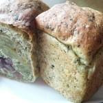 クゥーパン - 緑茶入り豆パン 180円