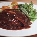 ユウアン - 安定の和牛ハンバーグステーキ