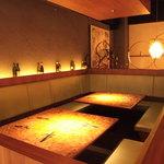 8G shinsaibashi - 最大16名様までOKの半個室ソファ席