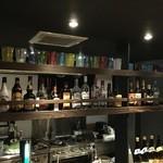 バー アンド カフェ サンビャクロクジュウド - ドリンク写真:お酒種類あり