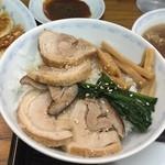 横浜とんとん - チャーシュー丼 ¥430