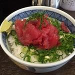 すなお軒 - ミニまぐろ中落丼(300円)