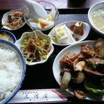 chuukaryourimikawaya - 豚肉茄子ピーマン味噌炒め定食850円