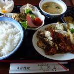 chuukaryourimikawaya - 回鍋肉定食850円