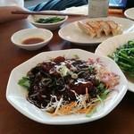 中華料理 福州 - 黒酢酢豚です。野菜も食べたい人普通の酢豚の方がオススメ