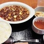 42302440 - 麻婆豆腐定食