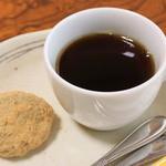 佳肴 - きなこおはぎとコーヒー