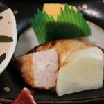 佳肴 - 焼き魚 出汁巻き玉子 漬物