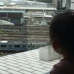 42303127 - 新幹線の見える席(^∇^)