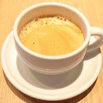 タストゥー - ランチコース 3780円 のコーヒー