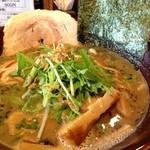 九十九里 麺ドラゴン - 醤油煮干しそば。