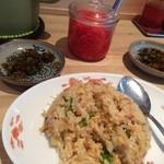豚骨ラーメン銀水 - セットのミニ焼飯