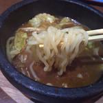 はせ川 - つけ汁からの麺リフト〜(*^◯^*)
