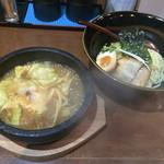 はせ川 - 石鍋辛みそつけ麺〜(*^◯^*)♪