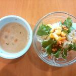 ヒーローズカフェ - 【2015.9】スープ・サラダ