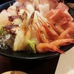 のの庵 - お刺身盛り合わせ 1650円(税込)