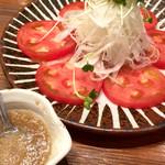日南市じとっこ組合 - 完熟トマトのサラダ 650円