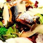 42307323 - 秋刀魚と茸のサラダ