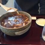 42307369 - カレー蕎麦大盛り♪