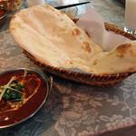 Chai - 料理写真:Dセット・ランチ(日替わりカレー カボチャとチキン)