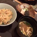 料理 吉祥寺 わるつ - 松茸ご飯