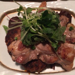 かんざし - ハンバーグと鶏