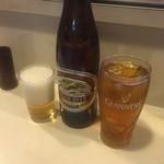 大門 - ☆瓶ビール&ウーロン茶で乾杯です(^○^)☆