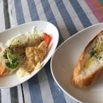 イタリアンバル SAMURAI - サラダ・パン