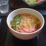 丼呑 みはる - 料理写真:たぬきうどん