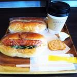 大平製パン - コッペパンとコーヒー